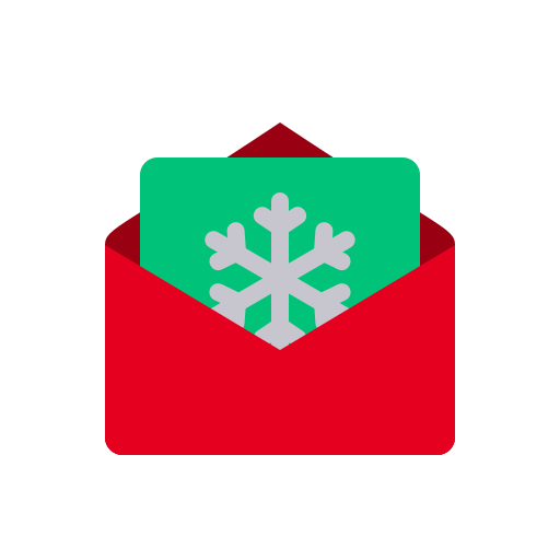 Message, Email, Invitation, Letter, Christmas, Xmas, Snowflake