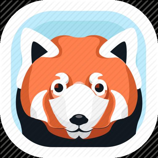 Animal, Mammals, Panda, Red Panda, Wildlife, Zoo Icon