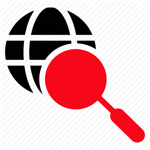 Search Icon Red