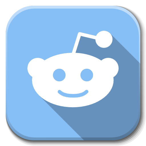 Apps Reddit Icon Flatwoken Iconset Alecive