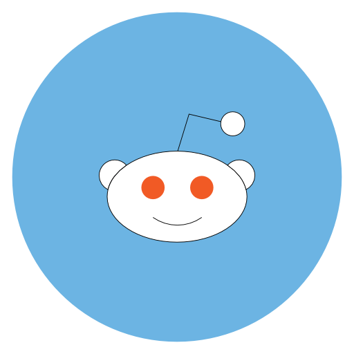 Reddit Icon Free Of Flat Social Media Icons Set