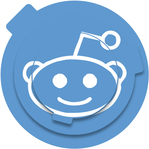 Reddit Blue Icon Free Of Circle Social Media Pack Icons