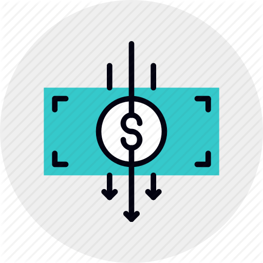 Business, Cost, Cut, Expense, Finance, Money, Reduce Icon