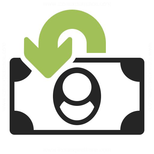 Money Refund Icon Iconexperience