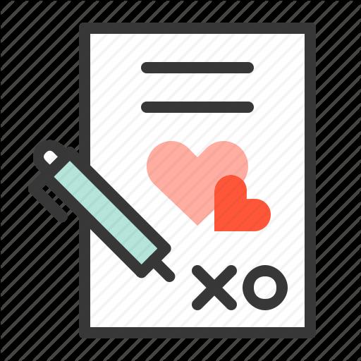Love, Marriage, Wedding, Wedding Register, Wedding Registry Icon