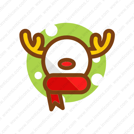 Download Reindeer Icon Inventicons