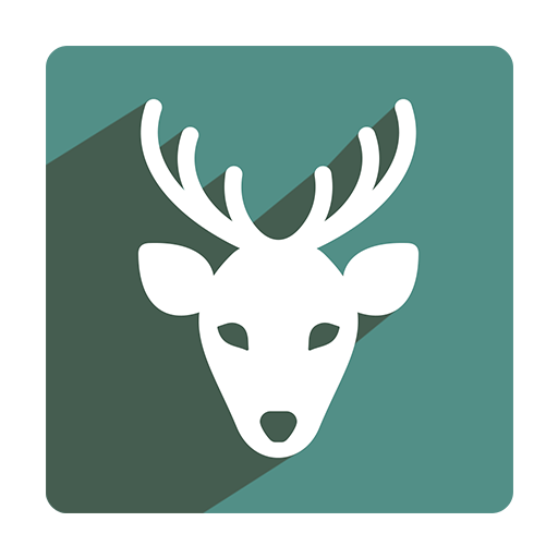 Reindeer Icon Christmas Shadow Iconset Pelfusion