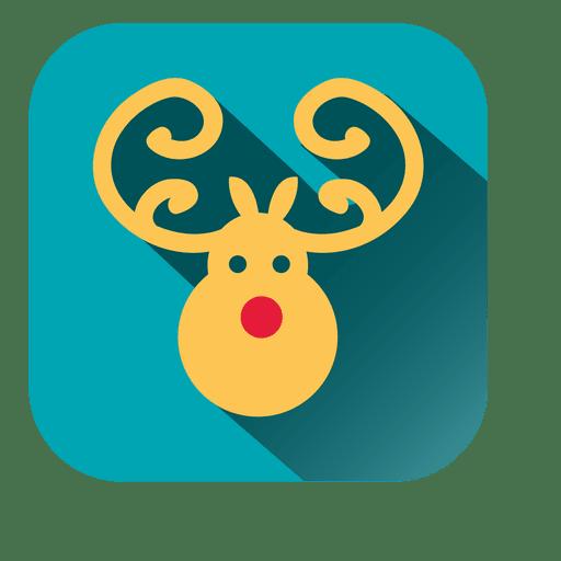 Reindeer Head Icon