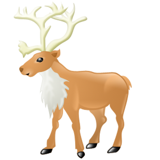 Beautiful Reindeer Icon Download Free Icons
