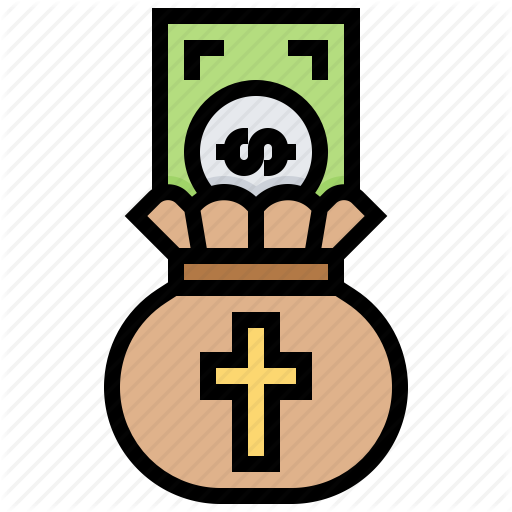 Charity, Christian, Donation, Giving, Money Icon