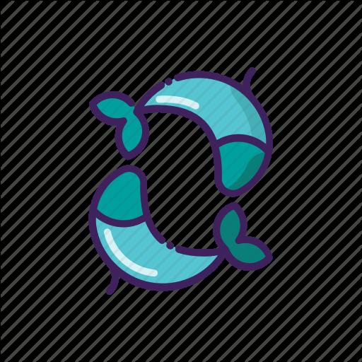 Fishes, Horoscope, Line, Pisces, Thin, Zodiak Icon