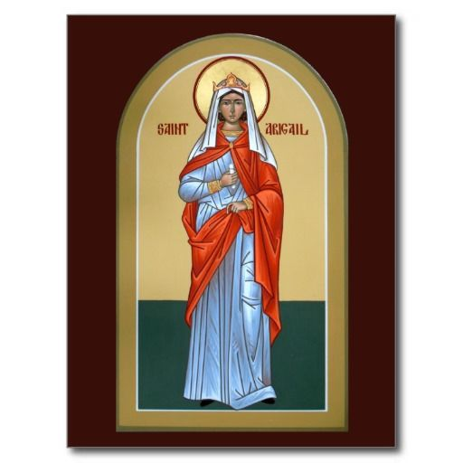 Saint Abigail Prayer Card Icons Saints, Orthodox Icons, Prayer