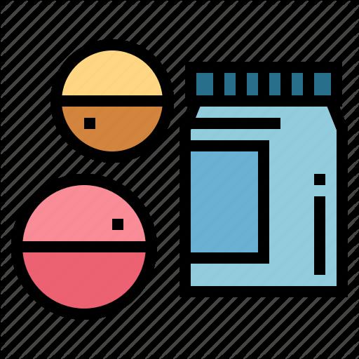Healthy, Medicine, Pills, Remedy Icon