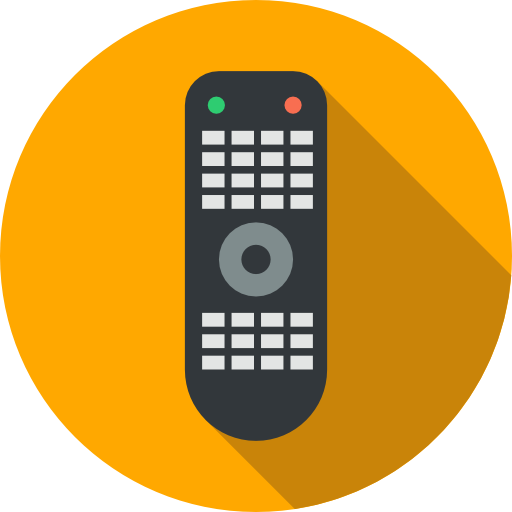 Electronics, Television, Remote Control, Technology, Wireless Icon