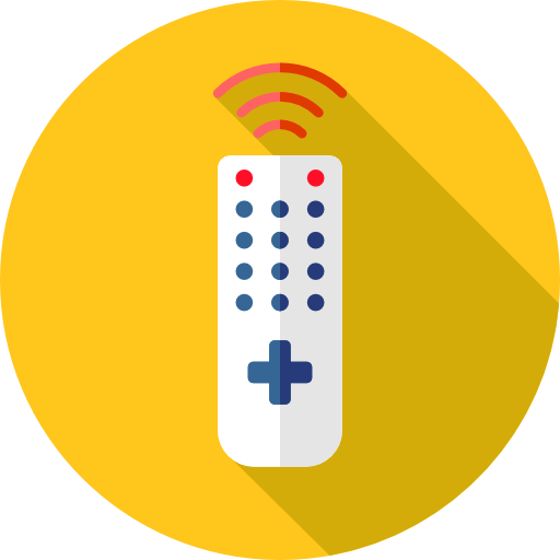 Television, Wireless, Technology, Electronics, Remote Control Icon