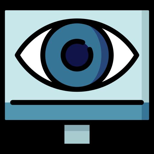Monitoring Eye Png Icon