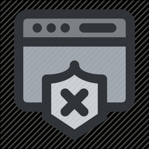Application, Delete, Interface, Remove, Shield, Window Icon