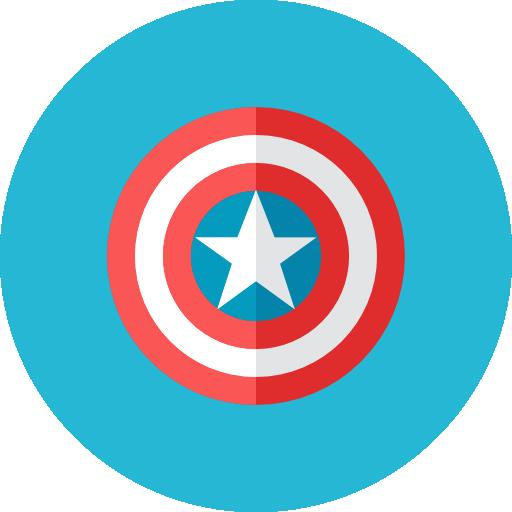 Captain Shield Icon Kameleon Iconset Webalys