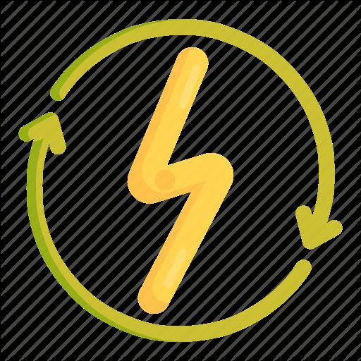 Energy, Renewable, Renewable Energy Icon