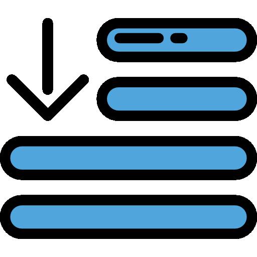 Ordering, Arrow, Alphabetically, Symbol, Order, Interface