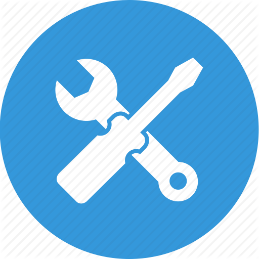 Repair, Service, Support, Technical, Technical Support, Tools Icon