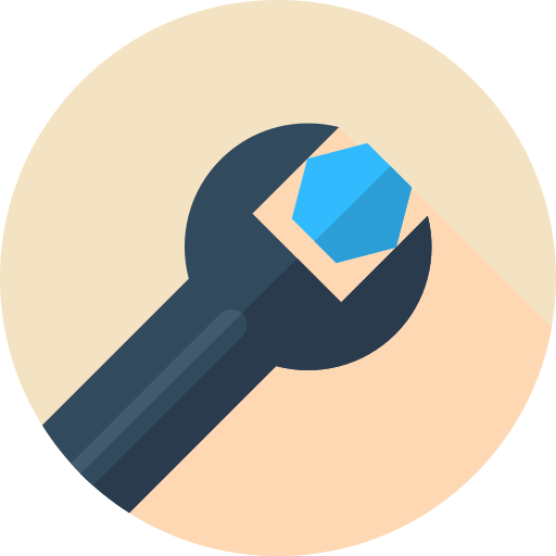 Repair Wrench Png Icon