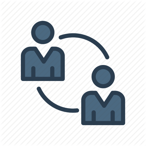 Information, Persons, Replace, Sharing, Users Icon