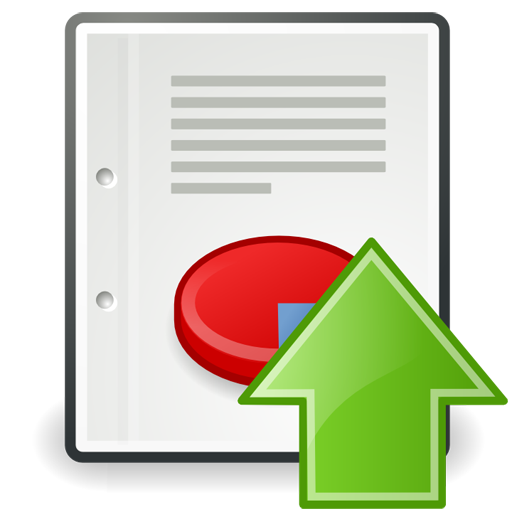 Upload Report Icon Download Free Icons