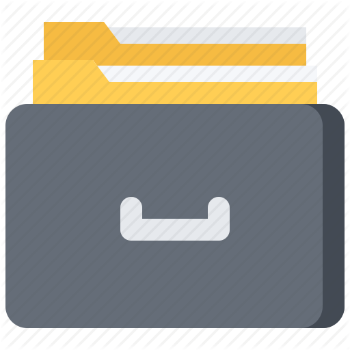 Business, Data, Document, Folder, Job, Office, Repository Icon