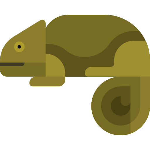 Animal Kingdom, Zoo, Chameleon Icon