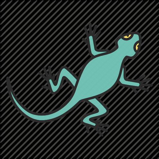 Animal, Gecko, Lizard, Pet, Reptile, Salamander, Zoology Icon