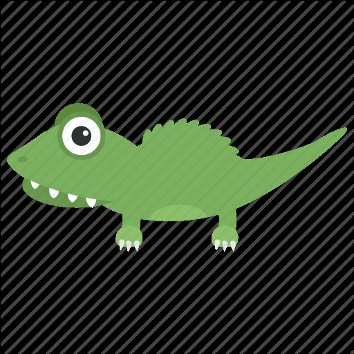 Crocodile, Crocodylidae, Large Reptile, Lizard, Wildlife Icon