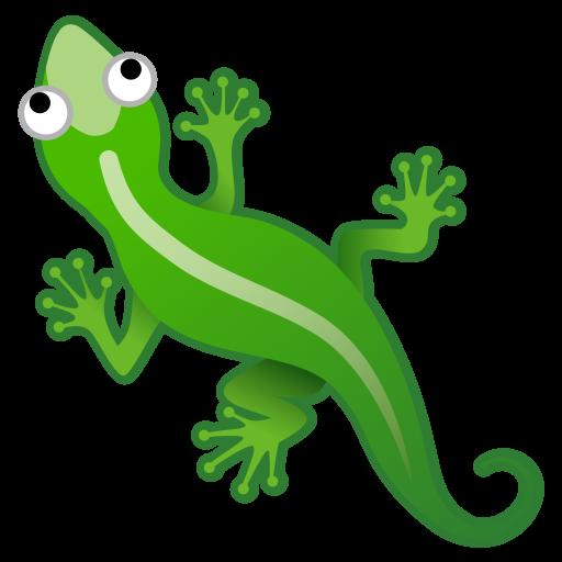 Lizard Icon Noto Emoji Animals Nature Iconset Google
