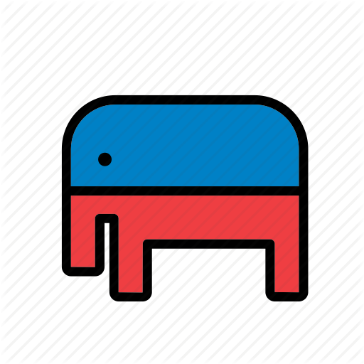 America, American, Elephant, Republican Party, States, United, Usa