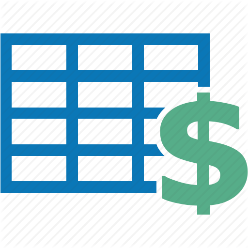 Business, Dollar, Finance, Financial, Money, Quote, Table Icon