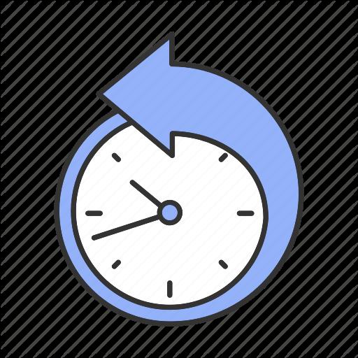 Arrow, Clock, Counterclockwise, Deadline, Ountdown, Reschedule