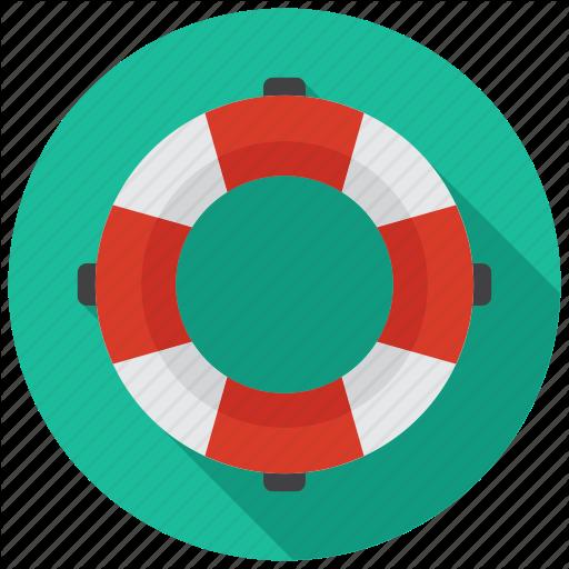 Lifebuoy, Rescue Icon