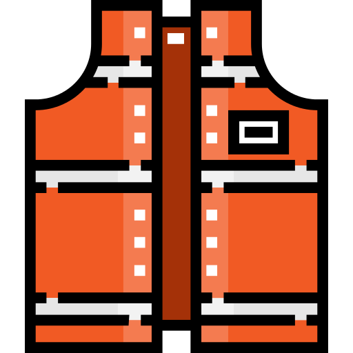 Reflector Vest Rescue Png Icon