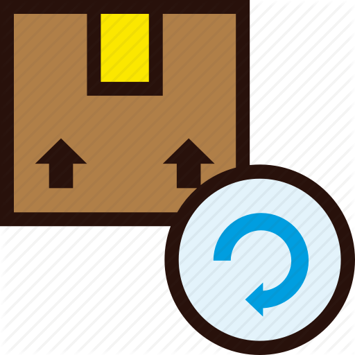 Box, Delivery, Package, Reload, Resend, Send, Update Icon