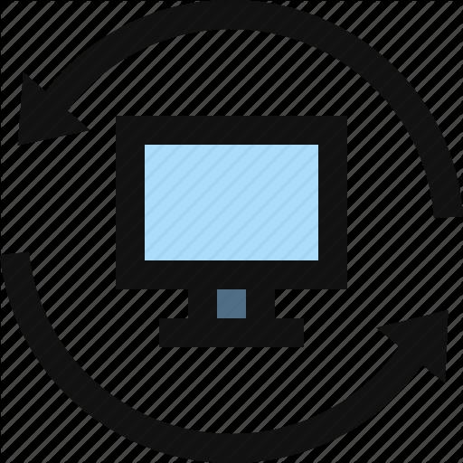 Computer, Reset, Reset Computer, Restart Computer Icon