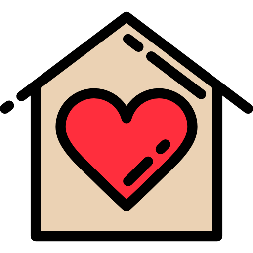 Love, House, Buildings, Heart, Romantic, Home, Real Estate