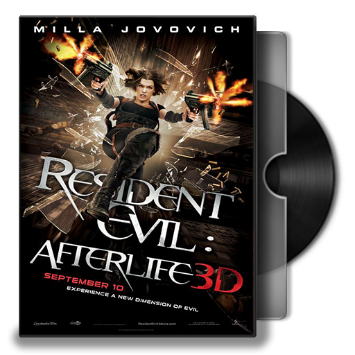 Resident Evil Afterlife Folder Icon