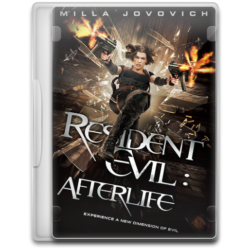 Resident Evil Afterlife Icon Movie Mega Pack Iconset