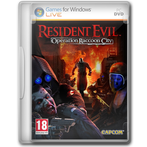 Resident Evil Operation Raccoon City Icon Game Cover