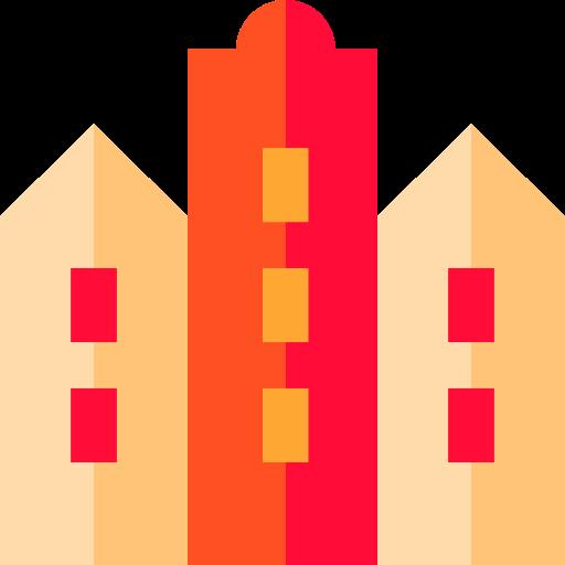Block, Apartment, Residential Icon