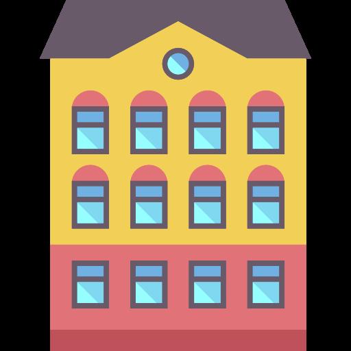 Block, Buildings, Residential Icon