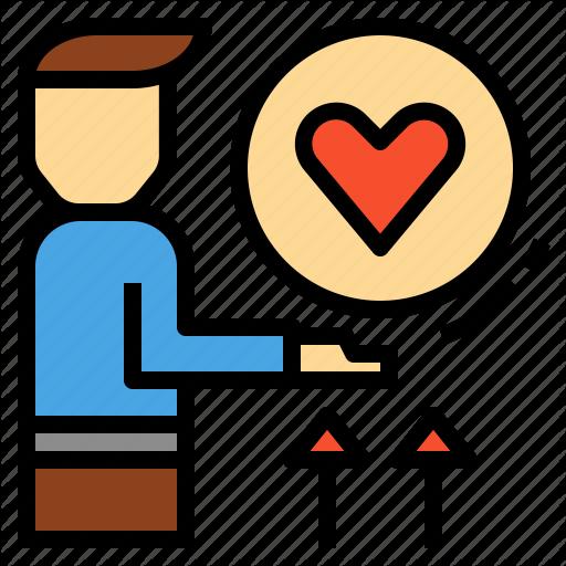 Care, Compassion, Empathy, Love, Sympathy, Understanding Icon