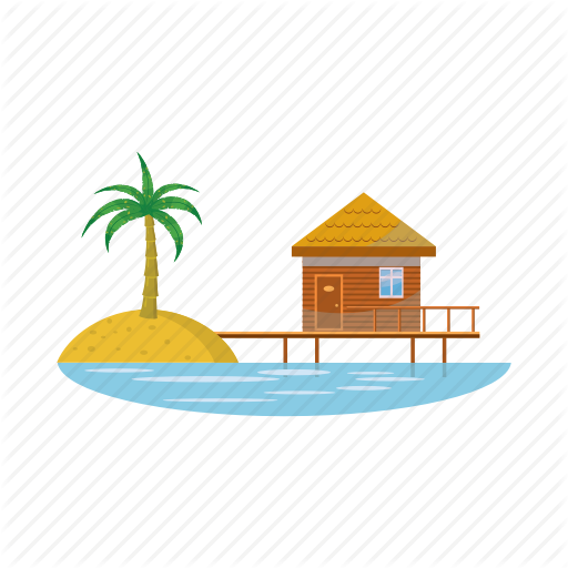 Cartoon, Hotel, Luxury, Resort, Travel, Vacation, Water Icon