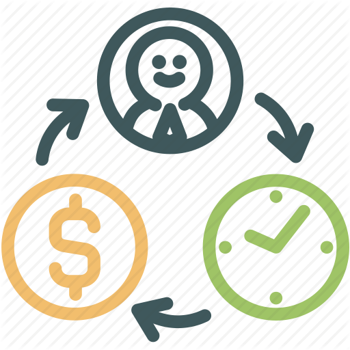 Business, Human, Money, Resource, Resources, Time, Value Icon