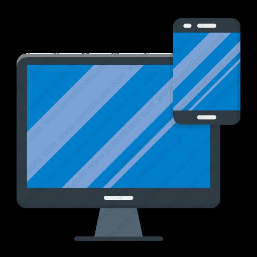 Download Responsive,web,design Icon Inventicons